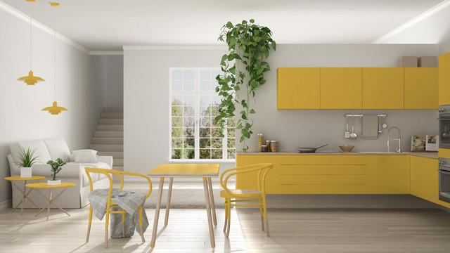 Wnętrza W Kolorze żółtym Na Co Zwrócić Uwagę Wybierając