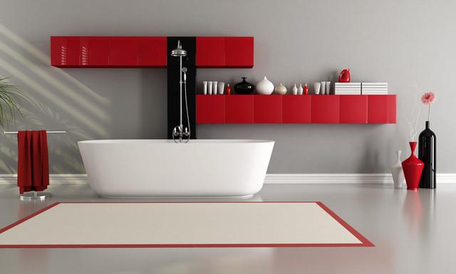 Czerwień W łazience Jak Stworzyć Stylową Aranżację