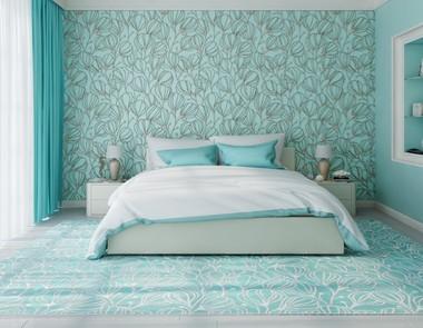 Sypialnia W Kolorze Niebieskim 4 Piękne Aranżacje