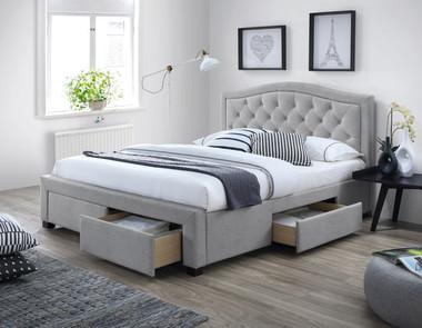 łóżko Z Pojemnikiem Nowoczesna Aranżacja Sypialni Meble