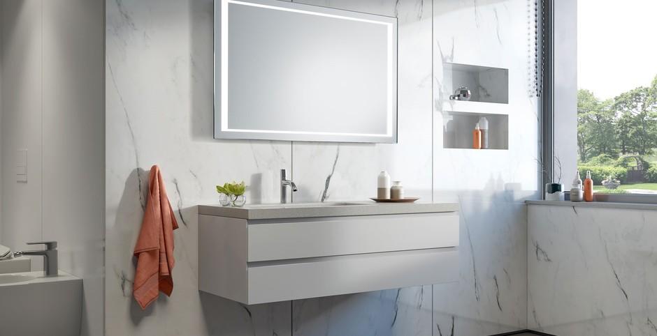 зеркало подвесное в ванную