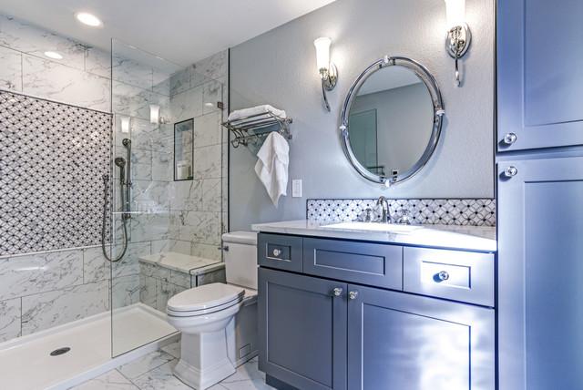 łazienka W Stylu Hampton Klimat Willi Nadmorskiej