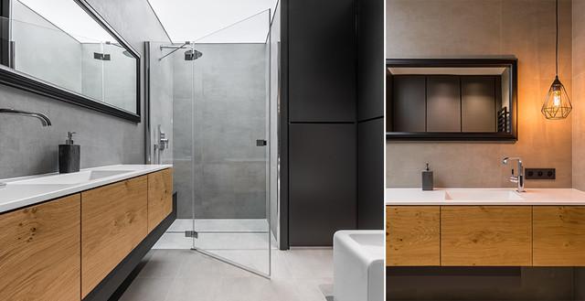 łazienka W Stylu Loftowym Nowoczesny Sposób Na Aranżację